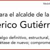 Carta para el Alcalde Federico Gutiérrez